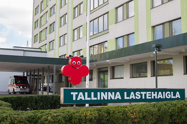 SleepAngel pillows donated to Tallinn Children's Hospital