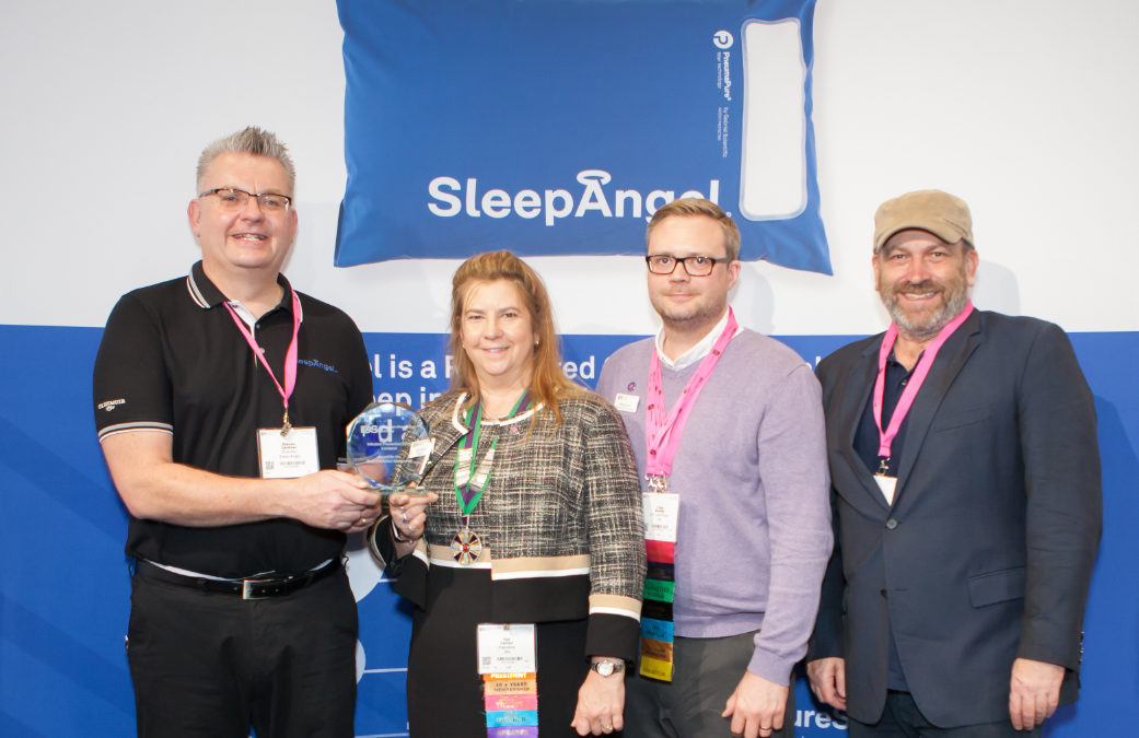 SleepAngel Medical has won the Best Newcomer Award at The Infection Prevention Society Conference
