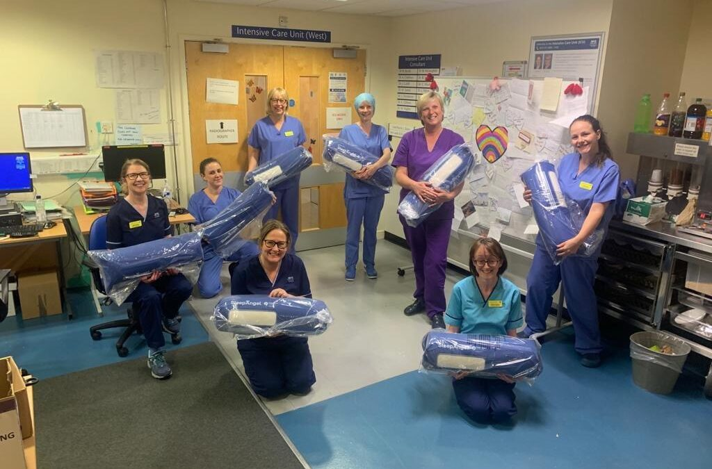 Glasgow Royal Infirmary ICU to use SleepAngel positioners for proning