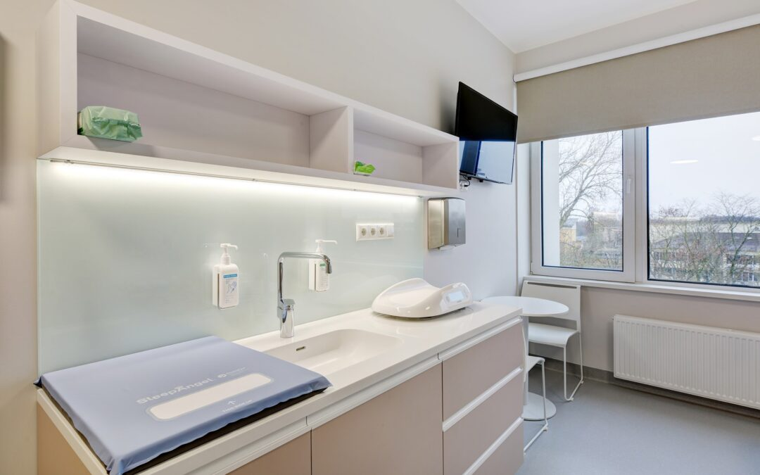West Tallinn Central Hospital new neonatal family rooms with SleepAngel