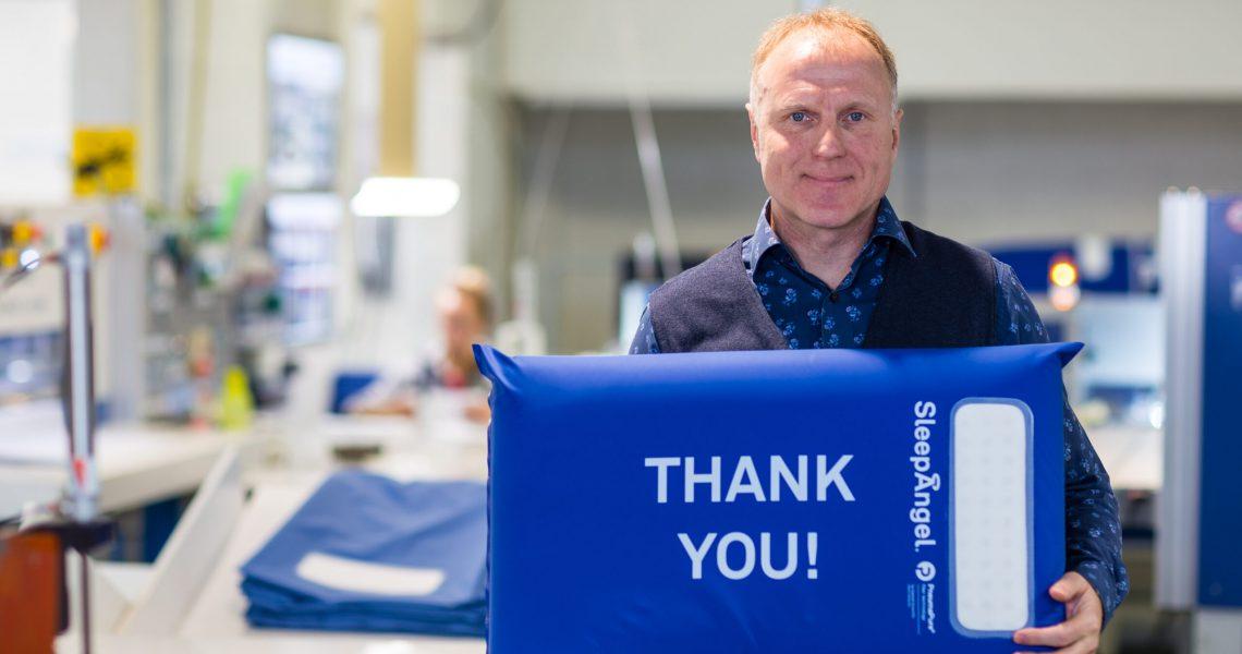 Sven Jürisoo, CEO, SleepAngel Medical